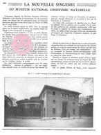 ARTICLE 1934 ZOO Singe Du Muséum D'Histoire Naturelle PARIS 3 Pages, 3 Photos N&B - Historical Documents