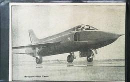 ► AVIATION (1958) Avion Bréguet 1001 TAON Essai   - Coupure De Presse (Encart Photo) - Historical Documents