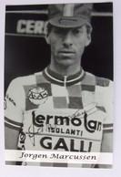 Jorgen MARCUSSEN - Signé - Dédicace - Autographe Authentique - - Radsport
