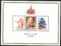 NOORWEGEN 1988 Blok Olav V PF-MNH-NEUF - Unused Stamps