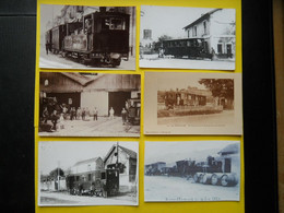 Photo ,TRAMWAY Et Gares De L'ISERE , Collection Bourneuf ,lire Descriptif , Saint Marcellin ,Roybon ,Déraillement - Trains