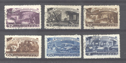Ru0  -  Russie  :  Yv  1272-77   (o) - Used Stamps