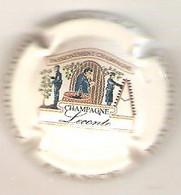 CAPSULE MUSELET CHAMPAGNE  LECONTE XAVIER BOUQUIGNY (multicolore Fond Crème) - Unclassified