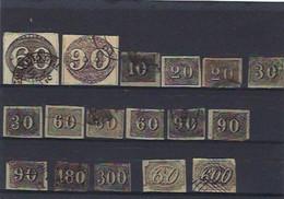 Lot De Timbres Anciens Du Brésil - Tous états - Old Stamps Of Brasil - Colecciones & Series