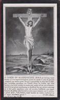 August Coeckelberghs Rottie Snykers Vissenaeken Vissenaken 1917 Bidprentje Doodsprentje Image Mortuaire - Images Religieuses