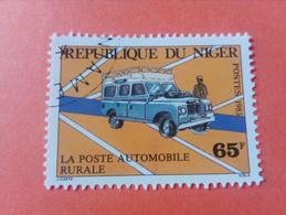 NIGER - République Du Niger - Timbre 1983 : Postes - La Poste Automobile Rurale - Niger (1960-...)
