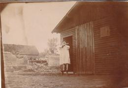Photo Aout 1919 CANTAING-SUR-ESCAUT (près Cambrai) - Exercice Matinale Devant Le Baraquement (A229, Ww1, Wk 1) - Humour