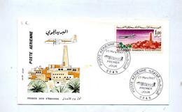 Lettre Fdc 1967 Ghardaia - Algérie (1962-...)