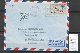 Reunion - Lettre  Avion Taxée - Saint Denis -1959 - Pour La Suisse - Covers & Documents