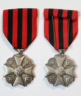 Médaille-BE-033A_Médaille Civique 2eme Classe_21-02-1 - Bélgica