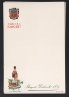 Jarnac (16 Charente) Lenu (vierge) Offert Par COGNAC BISQUIT DUBOUCHE  (ppp28839) - Menus