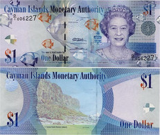 CAYMAN IS.        1 Dollar       P-38a       2010       UNC  [ Prefix: D/I ] - Islas Caimán