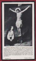 Gustave De Vos Antwerpen Kortrijk Voorzitter Kerkmeester St. Sint Carolus Borromeus 1916 Bidprentje Doodsprentje - Images Religieuses
