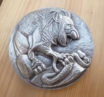 Médaille De Table DIRECTION DE LA SECURITE MILITAIRE , 1983 Bronze - Francia