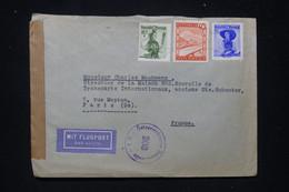 AUTRICHE - Enveloppe De Wien Pour Paris En 1948 Avec Contrôle Postal - L 97662 - Unclassified