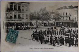 ALBI.—Place Du Vigan - Concert Militaire - Albi