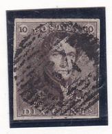 Belgique - COB 1 Obl. P 64 Jemeppe - Signé Kellens - 1849 Epauletten