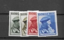 1946 MNH Norway Mi 310-13 Postfris** - Unused Stamps