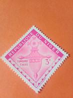 NIGER - République Du Niger - Timbre-taxe 1962 : Croix D'Agadez (Agadès) - Croix Du Sud - Niger (1960-...)