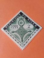 NIGER - République Du Niger - Timbre-taxe 1962 : Croix D'Agadez (Agadès) - Niger (1960-...)