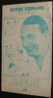 """Chanson Partition Paroles, """"Entre Copains"""", One Step Poterat Allibert, Illustrée Peynet, Pub Clacquesin Antonin Magne - Scores & Partitions"""