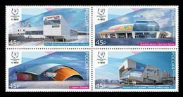 RUSSIE/RUSSIA/RUSSLAND/ROSJA 2019 MI.2656-59** ,ZAG.2438-41,YVERT.,. Winter Universiade In Krasnoyarsk. Sports Venue - Unused Stamps
