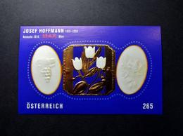 Österreich - Austriche - Austria - 2007 - BL40  - Postfrisch - MNH - Blockausgabe Josef Hoffmann - 2001-10 Unused Stamps