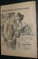 """Recueil De Partitions Paroles, """"Parisiana Chansons"""" N°1, Abel Gay, Illustrée, Loisir Musical - Scores & Partitions"""