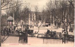 FR66 PERPIGNAN - Grand Bazar - Colorisée - Place Arago - Attelage - Animée - Belle - Perpignan