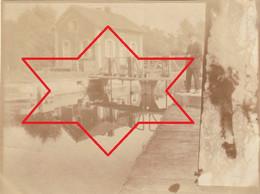 Photo Octobre 1919 PROVILLE (près Cambrai) - Ecluse Sur Le Canal (A229, Ww1, Wk 1) - Other Municipalities