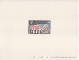 Epreuve De Luxe Du N° 20 (Archipel Crozet) 20F, Format 130 X 100 - Covers & Documents