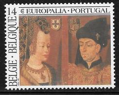 COB 2409 ** - Europalia 1991 - Unused Stamps
