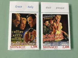 MONACO 2014 - YT N° 2908 Et 2909 - Les Film De Grace Kelly - Ongebruikt