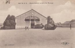 (Doubs )  CPA  Besançon  506 Eme R.C.C  Chars Lourds  Sortant Du Manège     (Bon état) - Besancon