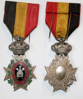 Médaille-BE-057_médaille Associative_Association Agricole_2eme Classe_FR-NL_21-02-1 - Bélgica