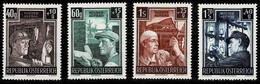 Österreich 1951,Michel# 980 - 983 ** Wiederaufbau - 1945-60 Unused Stamps