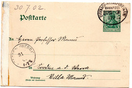 Entero Postal De Alemania.1902 - Stamped Stationery