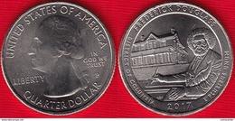 "USA Quarter (1/4 Dollar) 2017 P Mint ""Frederick Douglass, DC"" UNC - 2010-...: National Parks"