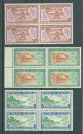 TOKELAU -  MNH/** - 1948  - Yv  1-3 -  Lot 23427 - BLOC OF 4 STAMPS - Tokelau