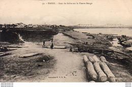 VIETNAM  HANOÏ  Banc De Sable Sur Le Fleuve Rouge - Vietnam