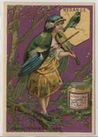 Compagnie Liebig: Mesagne Fond Violet (particularité) - Liebig
