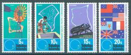 TOKELAU - MNH/** - 1972 - 25th ANNIV. SOUTH PACIFIC COMMISSION - Yv 33-36 -  Lot 23429 - Tokelau