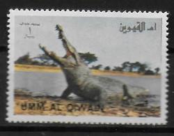 UMM AI QIWAIN   PA  * *  Crocodile - Unclassified