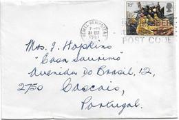 Great Britain , UK , 1981 , Fishing Industry , Fisherman ,  Hempstead  Postmark - Christmas