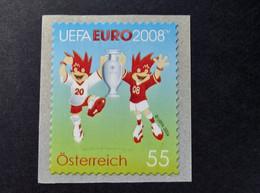Österreich - Austriche - Austria - 2008 - 2706  - Postfrisch - MNH -   Selbstklebend, UEFA EURO 2008, - 2001-10 Unused Stamps