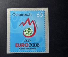 Österreich - Austriche - Austria - 2008 - 2707  - Postfrisch - MNH -   Selbstklebend, UEFA EURO 2008, - 2001-10 Unused Stamps
