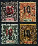 Mayotte (Francés) Nº 25-27/28-30 Usado - Usados