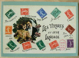 Carte Pré-timbrée 2020, Neuve, Le Langage Des Timbres, International, TB - Listos A Ser Enviados: Otros (1995-...)