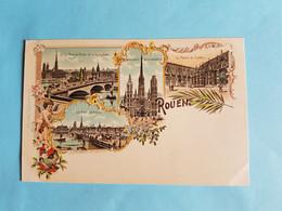 TRES  BELLE  CARTE  KUNZLI  N°  928   ROUEN   76 - Rouen