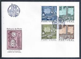 Olieraffinaderij In Porto. Oil Refinery In Porto. Ölraffinerie In Porto. Raffineria Di Petrolio A Porto. Oljeraffineri. - Oil
